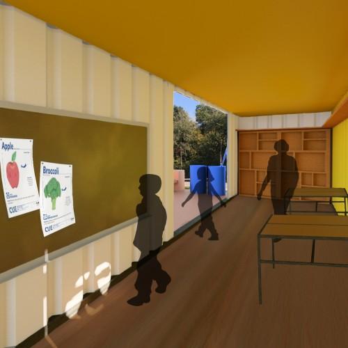 CUE Barn Interior