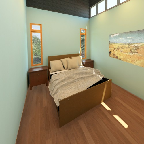 Cottage Bedroom m1