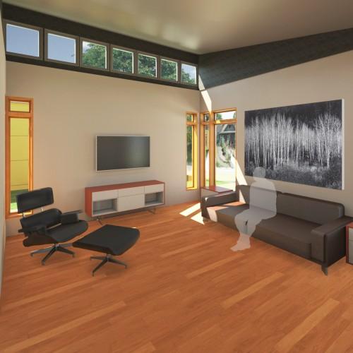Cottage Living Room M1